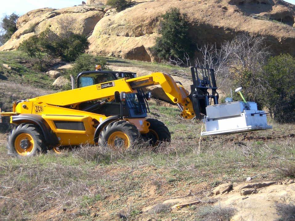 Recovery Act-Funded Study Assesses Contamination at Former Test Site in California
