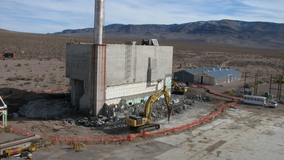 Cleanup of Historic Nuclear Rocket Development Facility