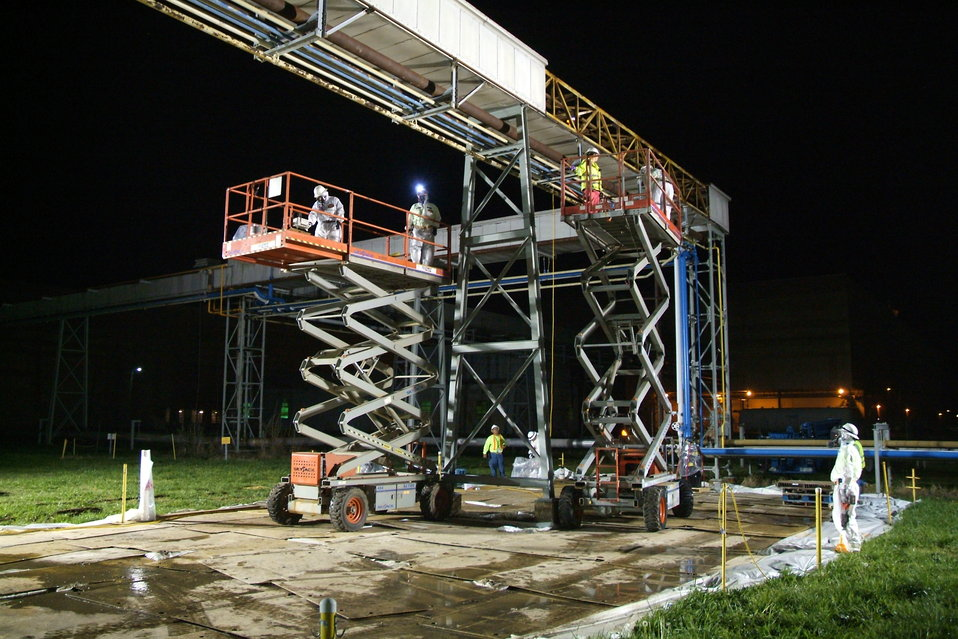 Crane Work at the Paducah Site