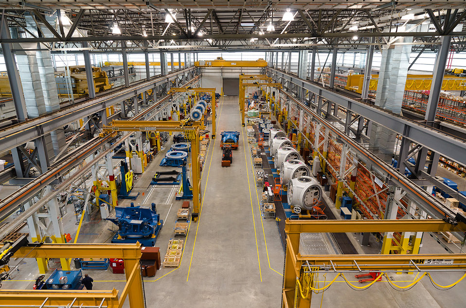 Nordex USA manufacturing facility - Jonesboro, Arkansas.