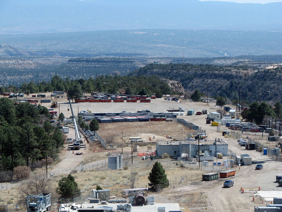 After photo of DP East area of Los Alamos National Laboratory's Technical Area 21