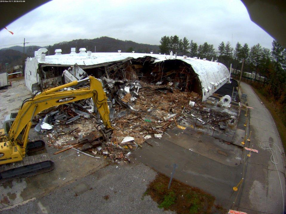 2000 Complex demolition