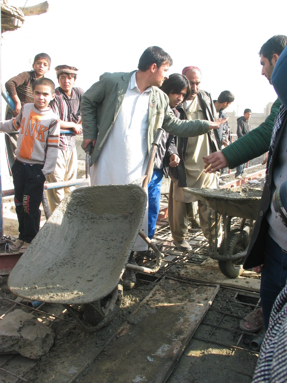 Kabul River Bridge Renovation, December 3, 2010