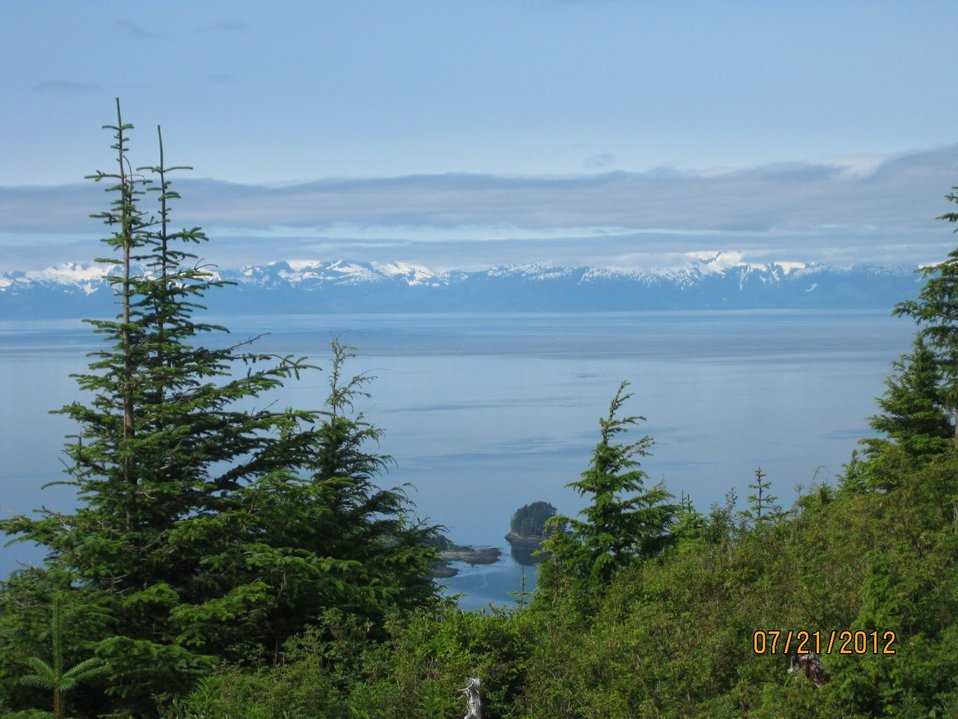 Kake, Alaska landscape
