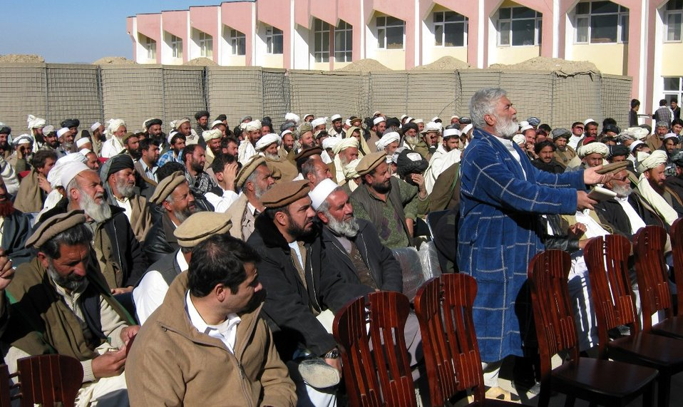 ASOP - District Community Council Formation Logar