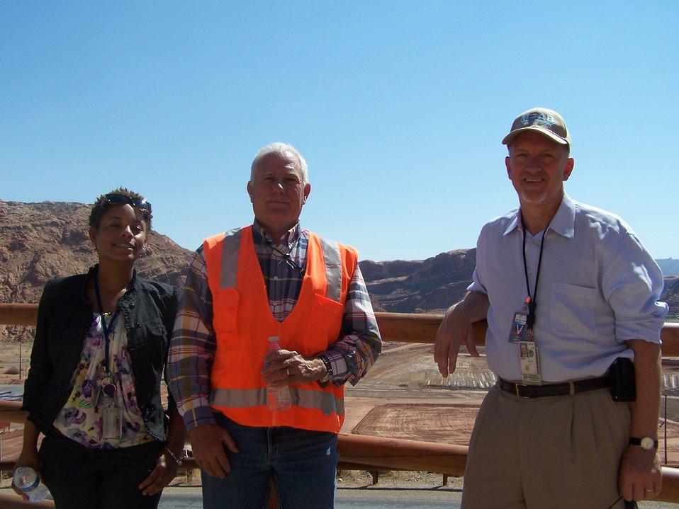 Huizenga Visit to Moab