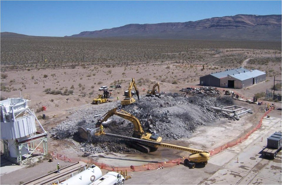 Recovery Act Bolsters Nevada National Security Site Environmental Cleanup