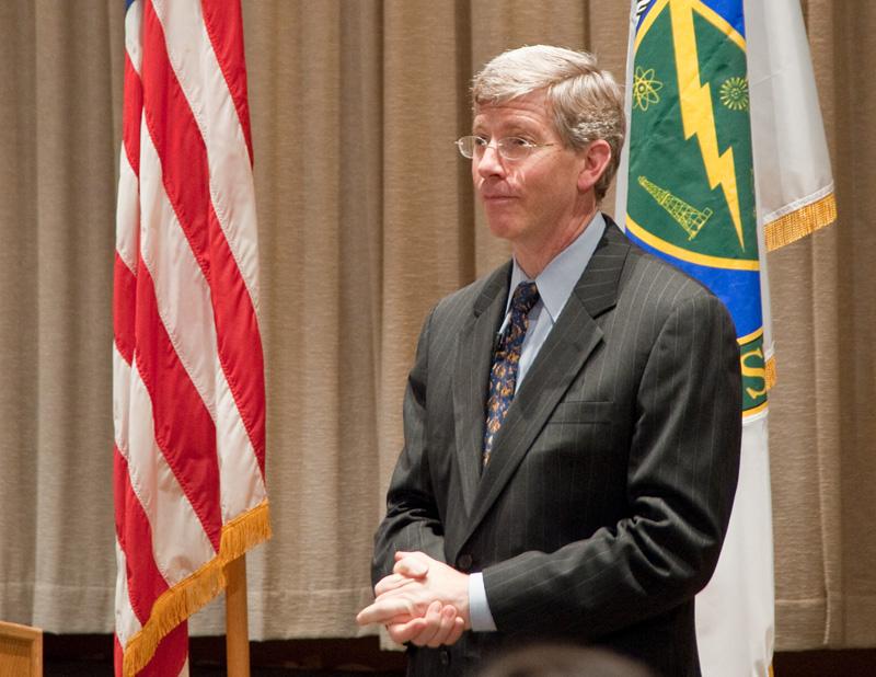 Deputy Secretary Daniel Poneman.