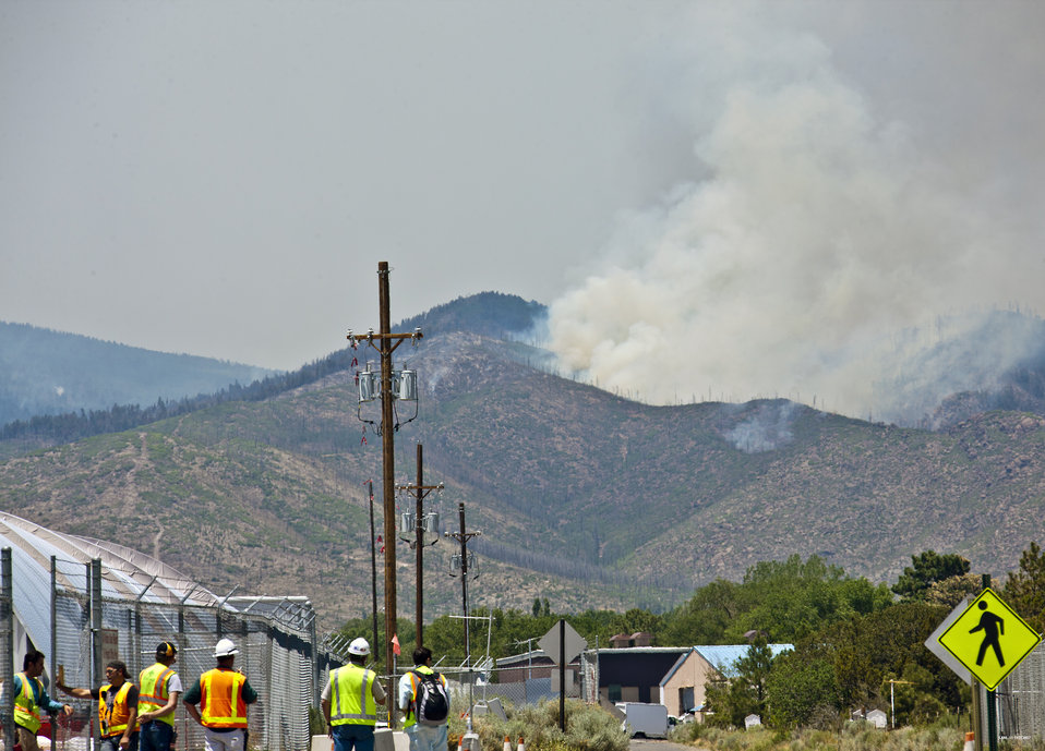 Protecting Recovery Act Cleanup Site During Massive Wildfire
