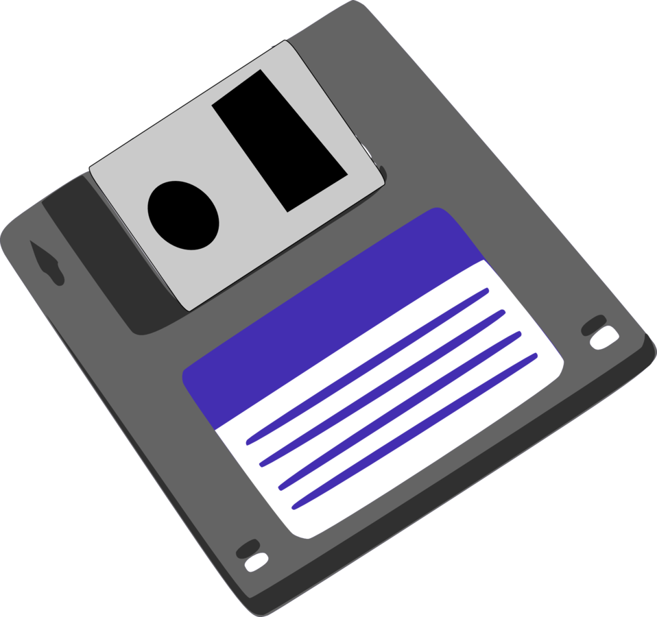 Illustration of a floppy disk