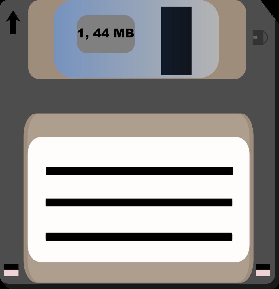 Illustration of a floppy disk