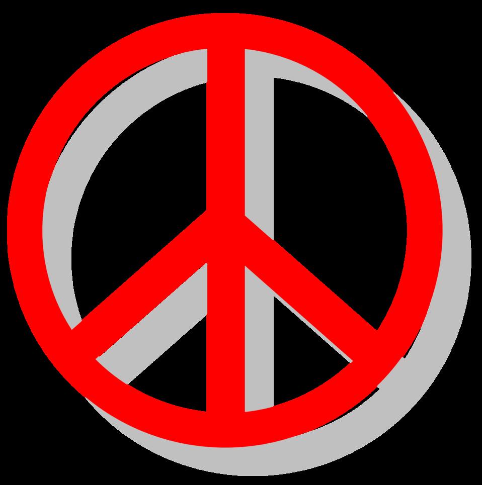 Public Domain Clip Art Image Illustration Of A Peace Symbol Id