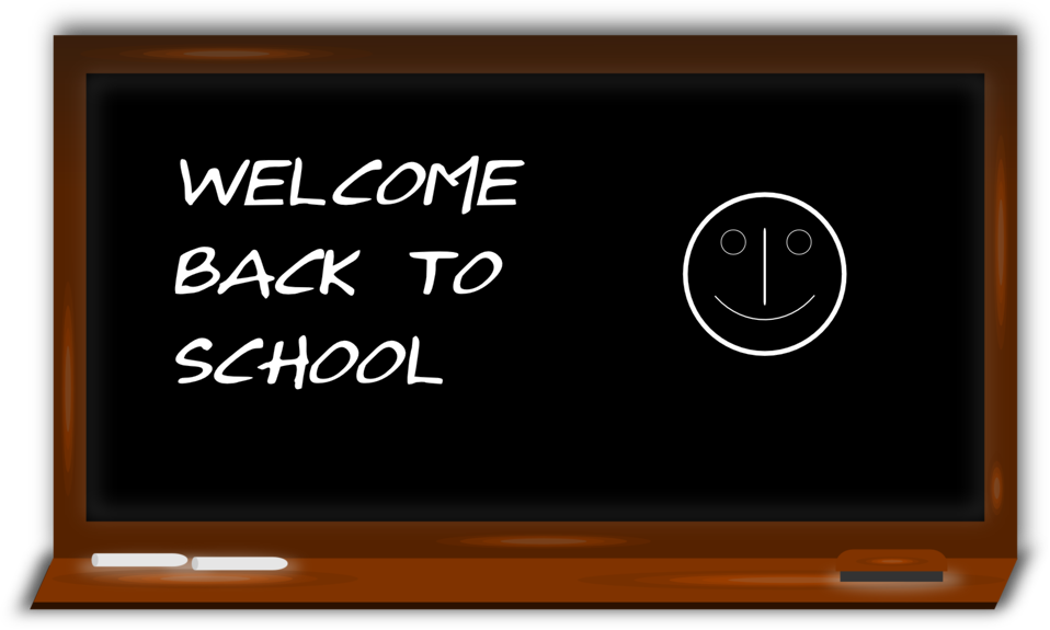 Image result for school clip art welcome back