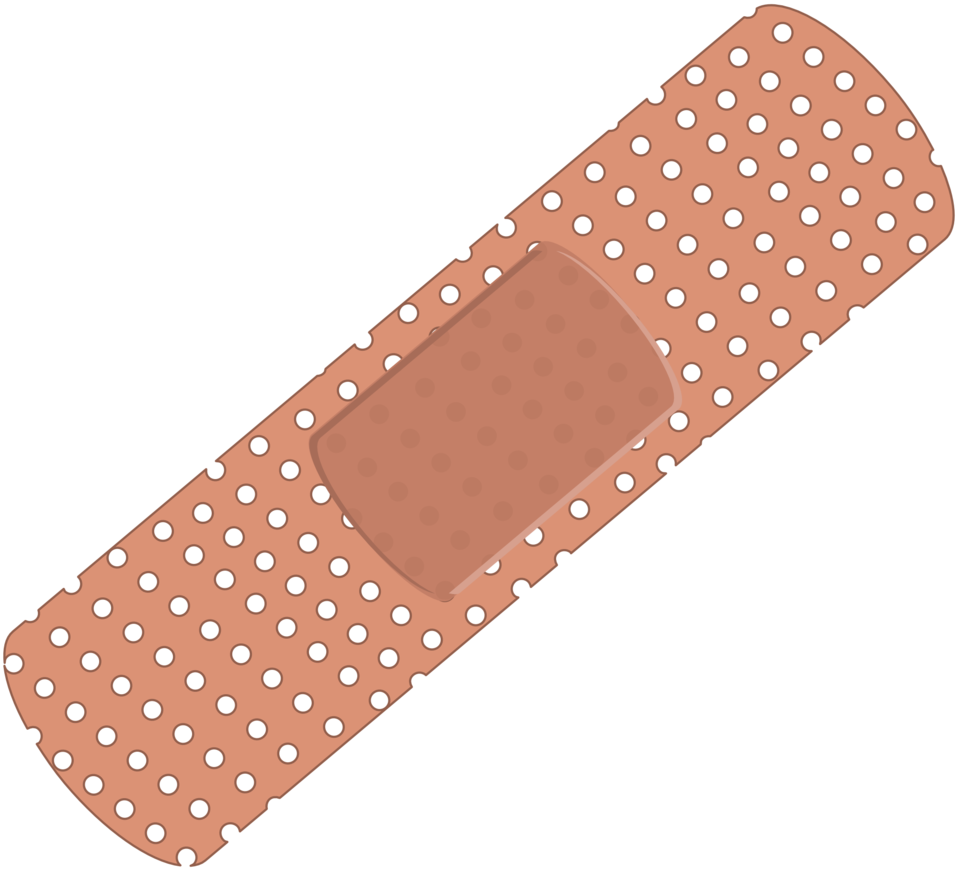 Illustration of a bandage