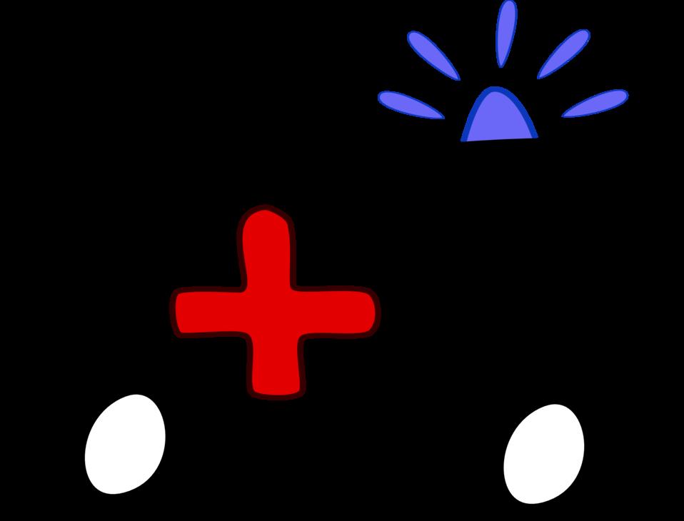 Illustration of an ambulance