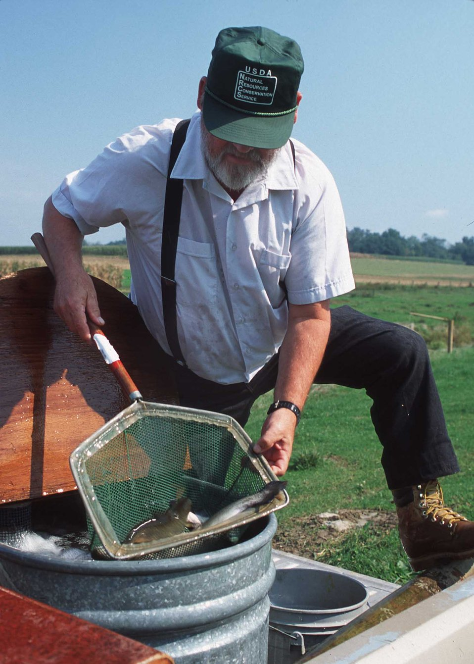 Public domain picture fish stocking in improved streams for Pa fish stocking