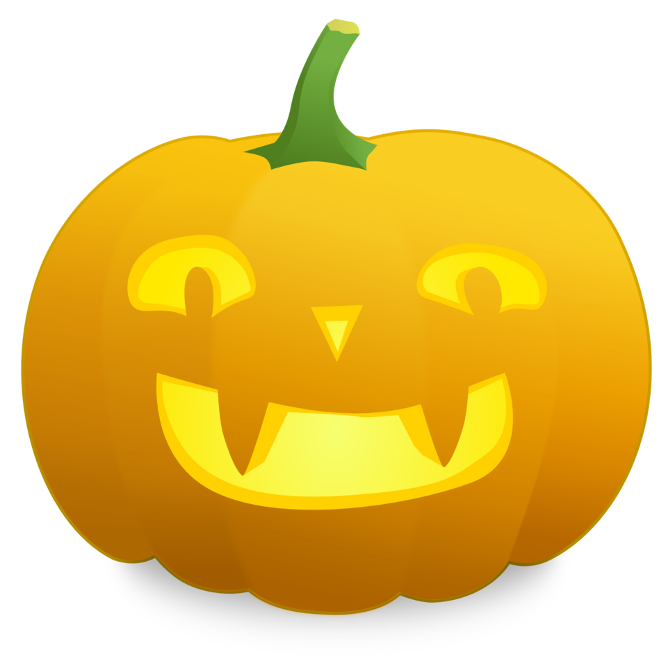 Illustration of a jack-o-lantern