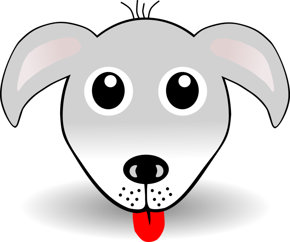 Illustration of a cartoon puppy