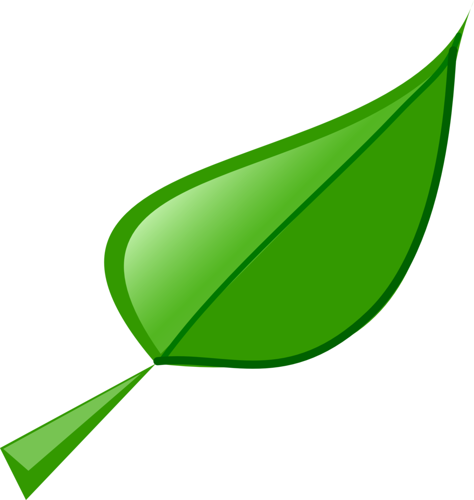 free clipart green leaf - photo #39