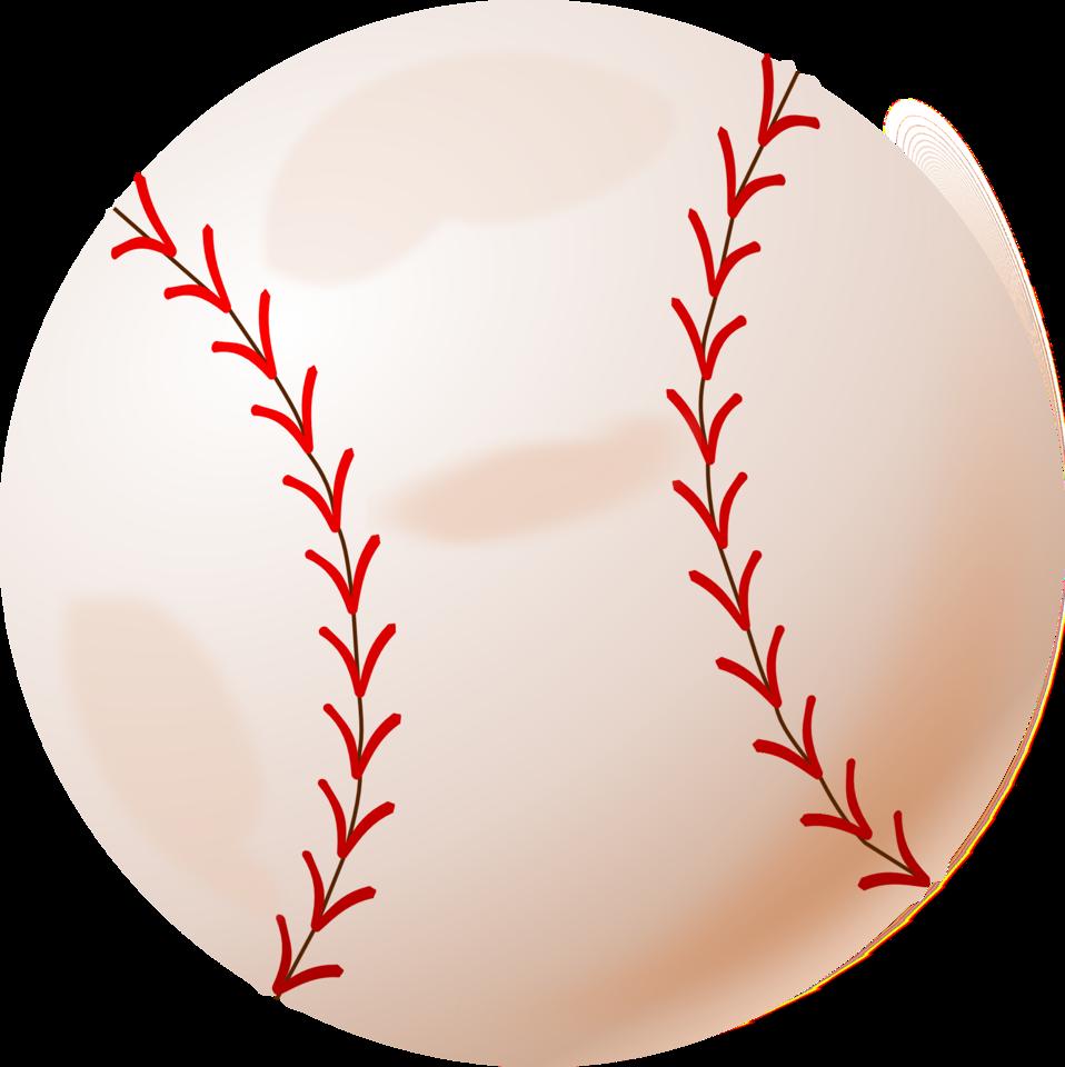 Illustration of a baseball