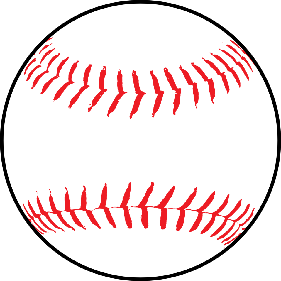 Illustration of a baseball