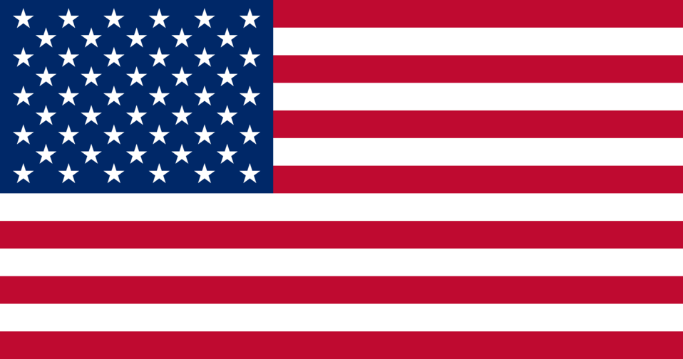 Illustration of an American flag