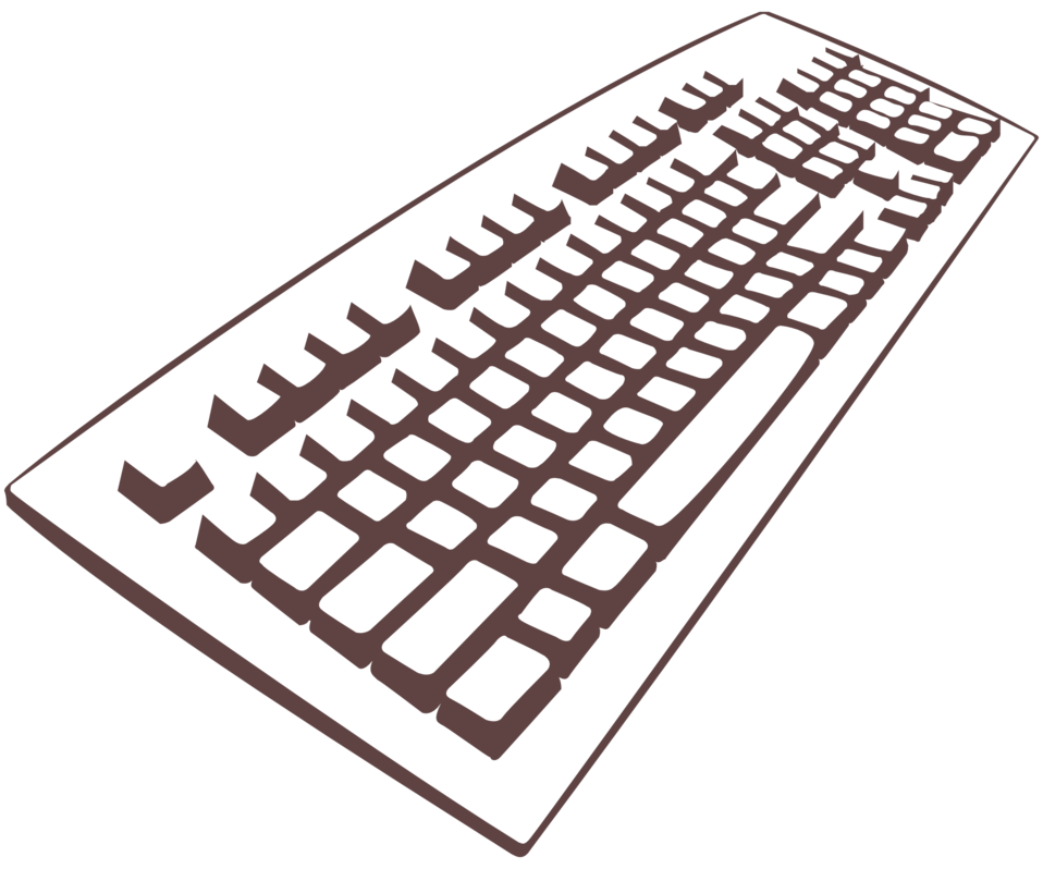 Illustration of omputer keyboard