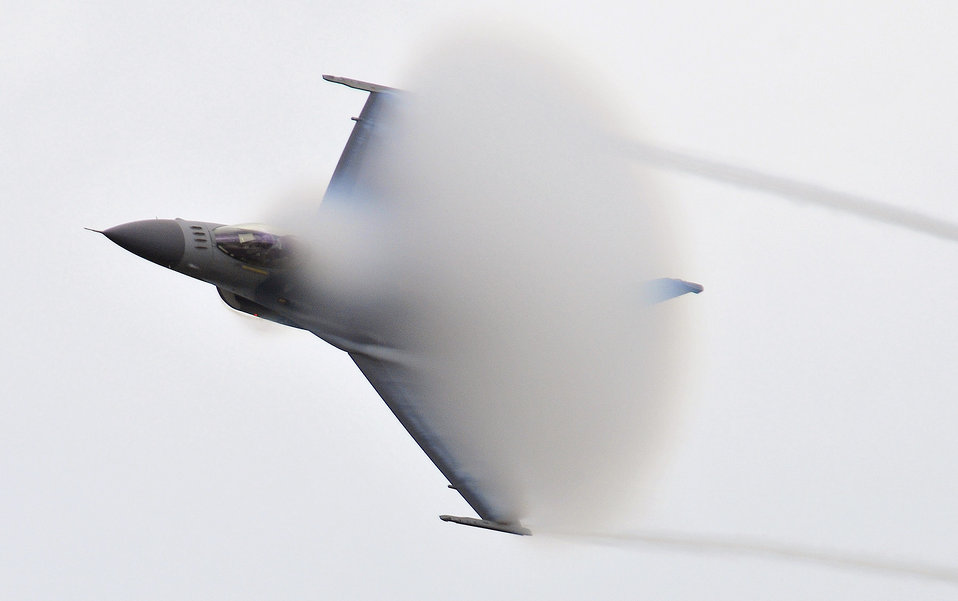 Approaching the sound barrier