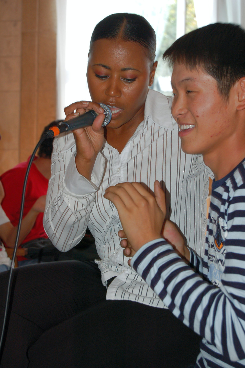 Band members, Kyrgyz citizens share culture through music