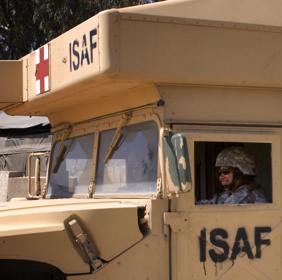 Airman helps run Afghan medical clinic