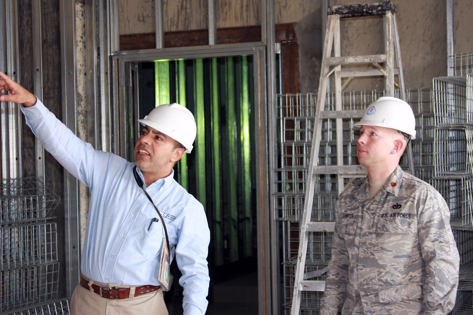 Engineer team plans Bagram's future