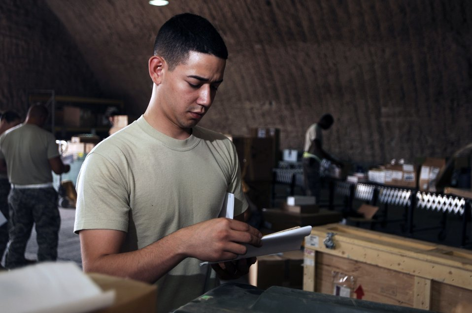 Joint Base Balad Airmen's initiatives shorten supply lines