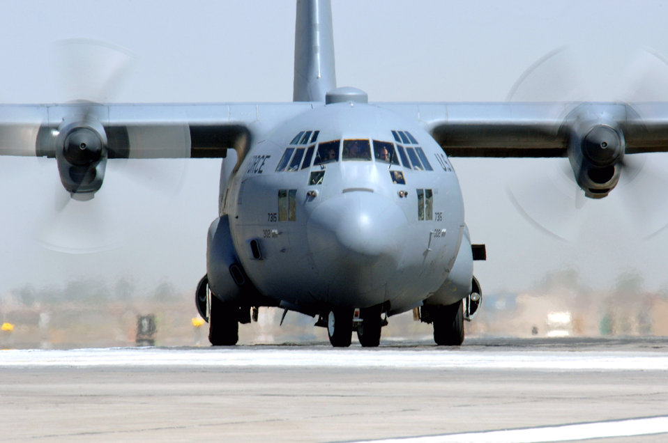 Aug. 5 airpower summary: C-130s transport troop supplies