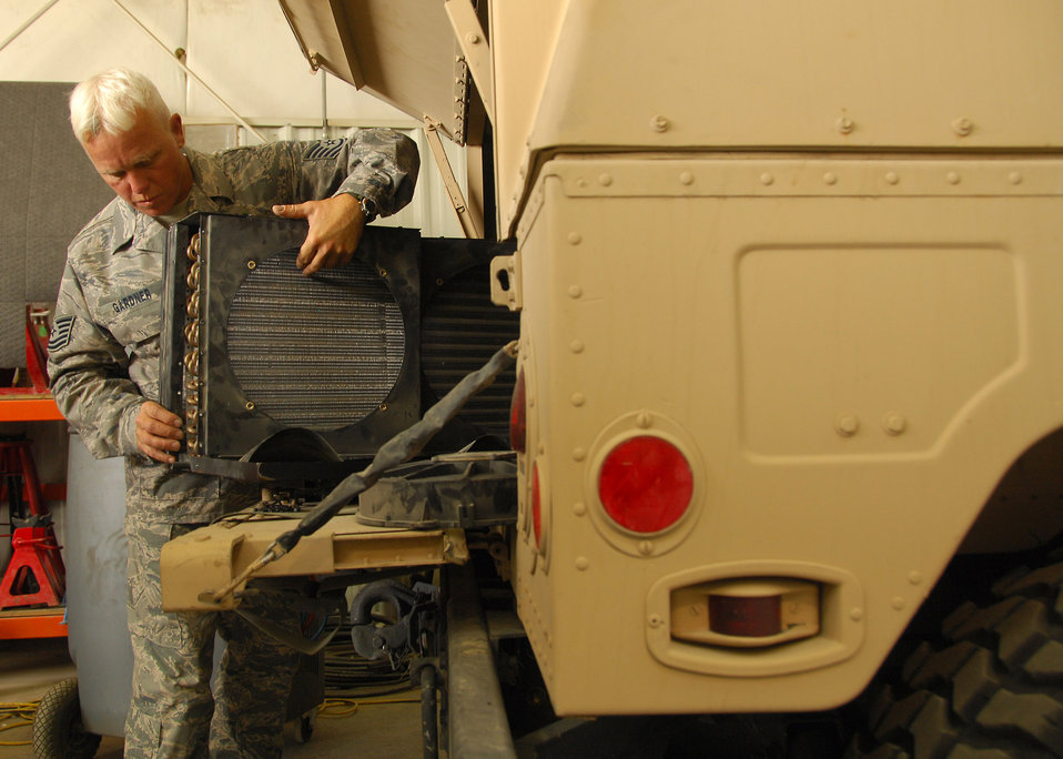 Humvee Modification