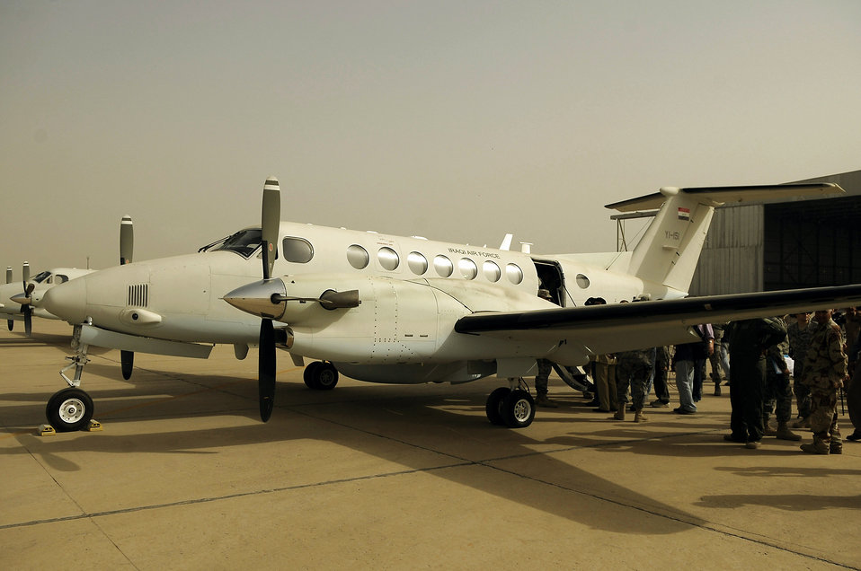 Iraqi air force acquires new aircraft from U.S. forces