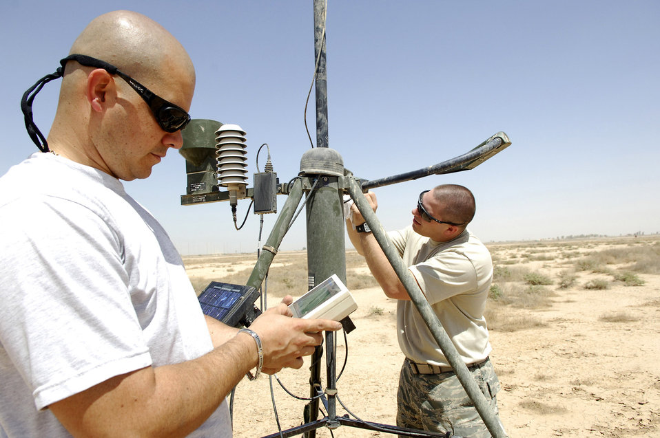 It's a 'shamal world' for combat weather Airmen