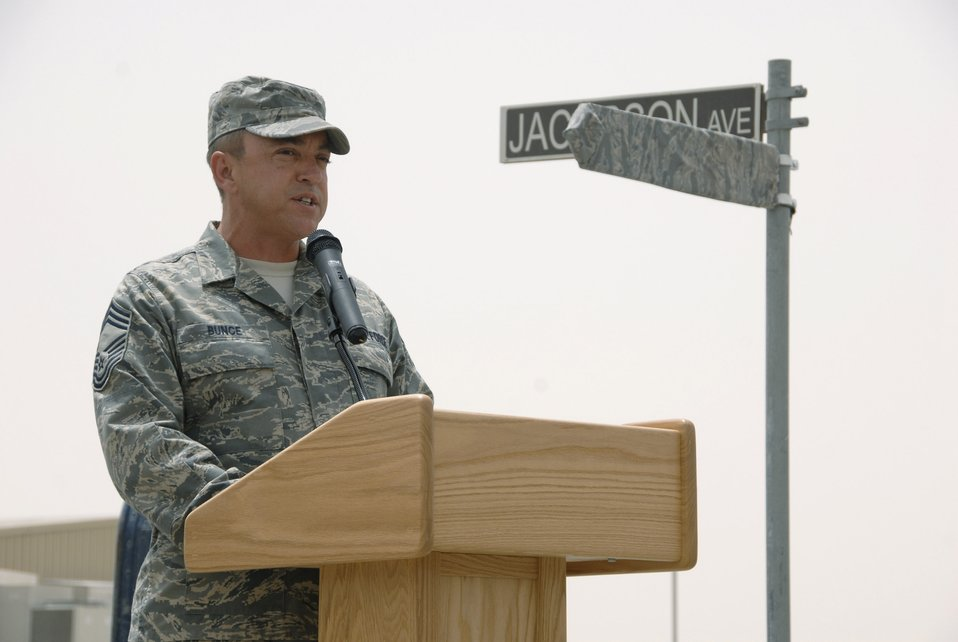 In his honor: Street named for Airmen killed in action