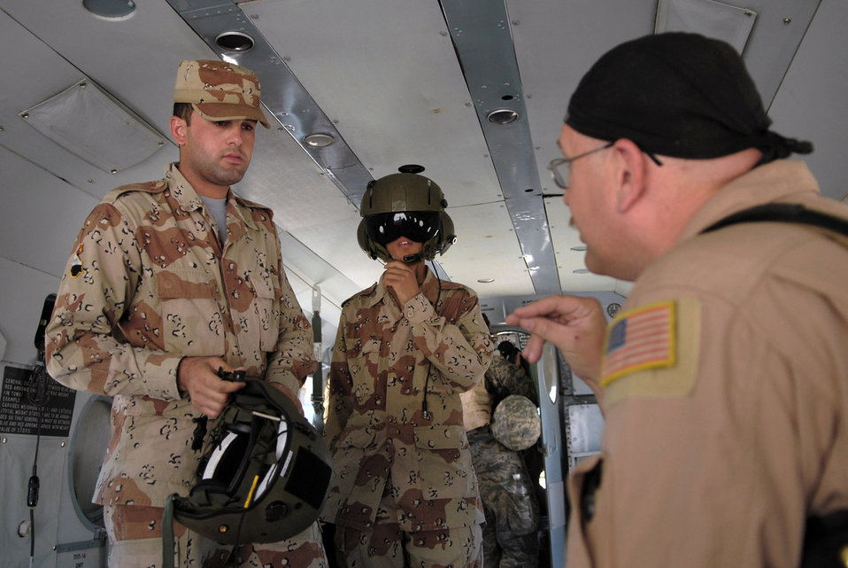 Airmen help Iraqi air force become self-sustaining service