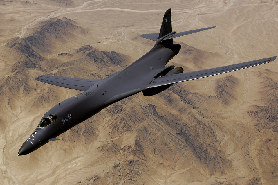 June 9 airpower summary: B-1B bombs enemy