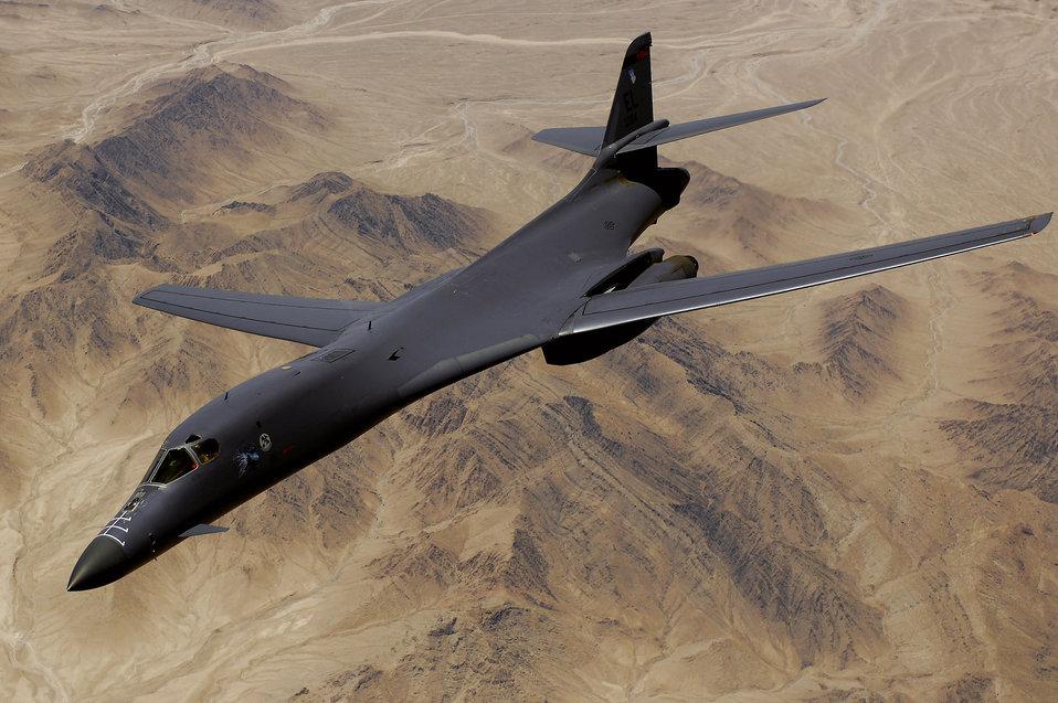 June 9 airpower summary: B-1B bombs enemy