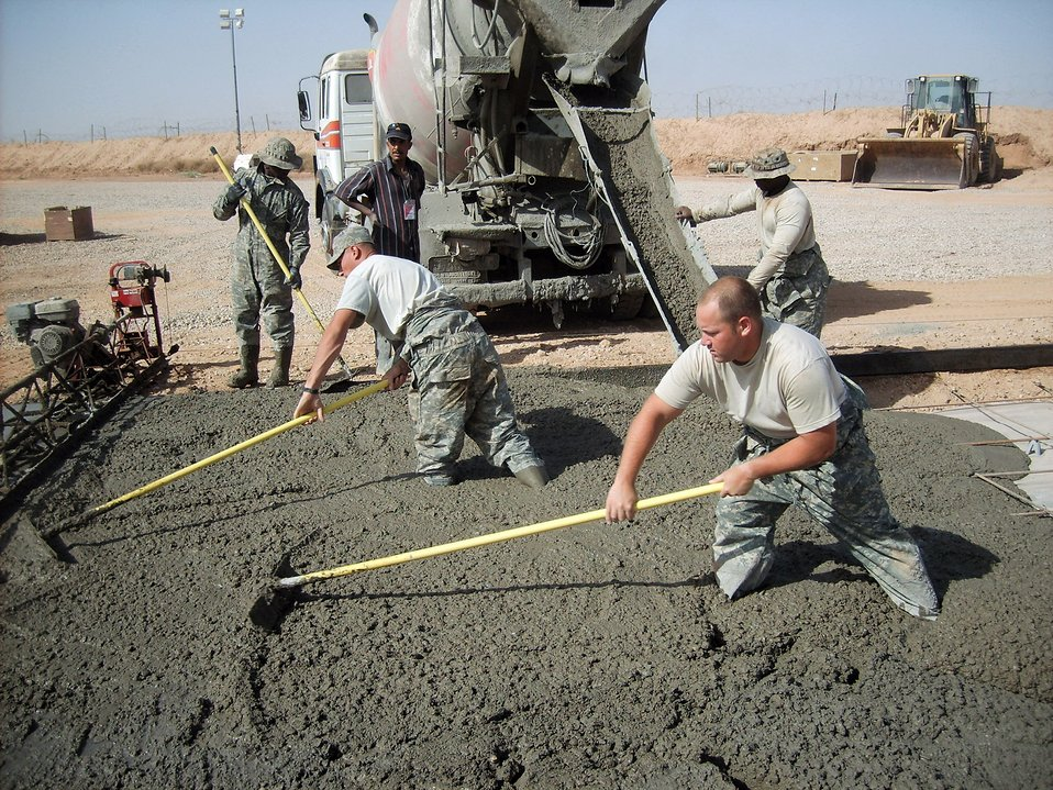 CE Airmen complete projects to benefit U.S., Iraqi army