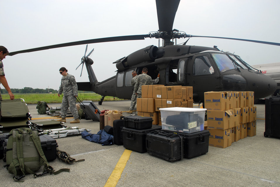 Servicemembers support El Salvador disaster relief exercise