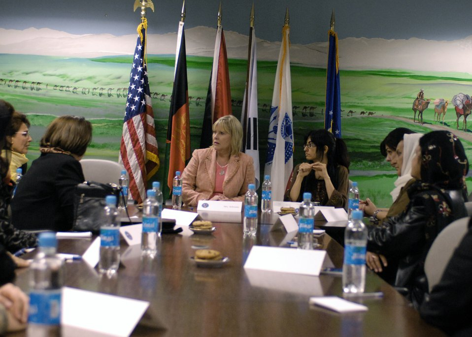 Bagram PRT host women's affair meeting