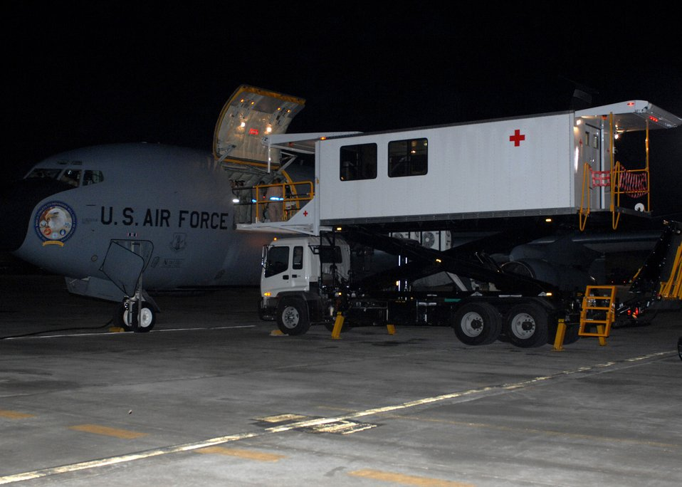 Bagram first to operate new transporter