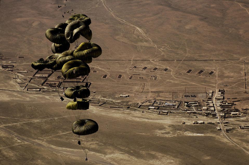 Afghanistan airdrop