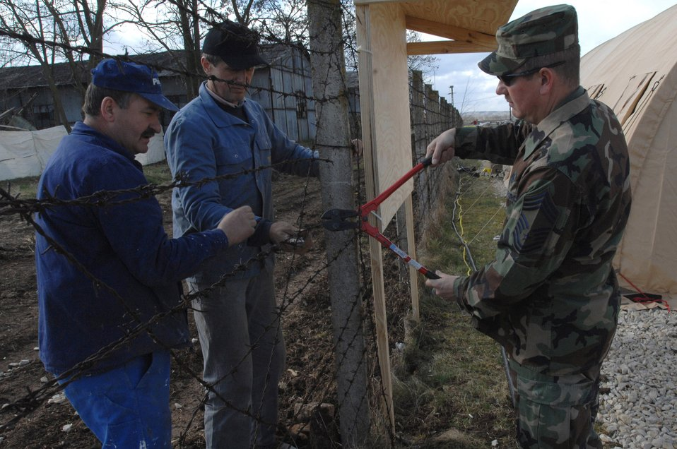 Civil engineers build Noble Endeavor Airmen in Romania home away from home