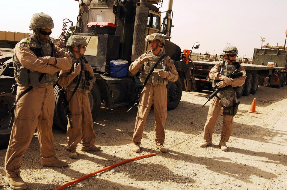 Combat truckers