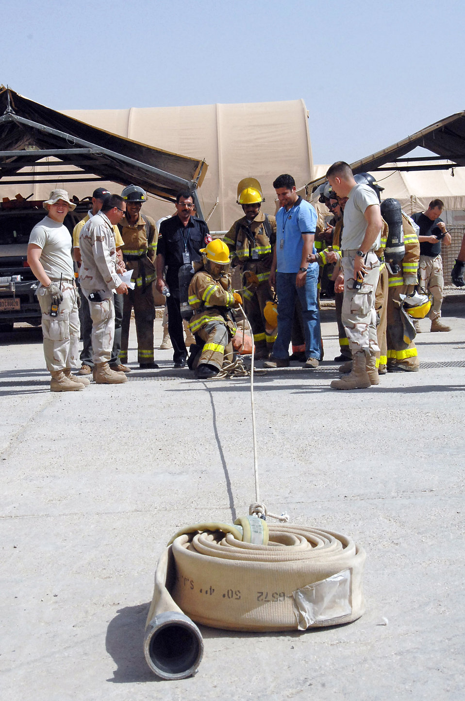 Airmen train Iraqis to save lives