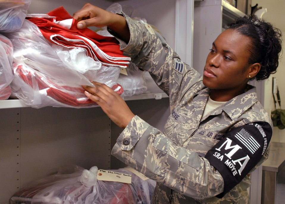 Airman gives all for the families