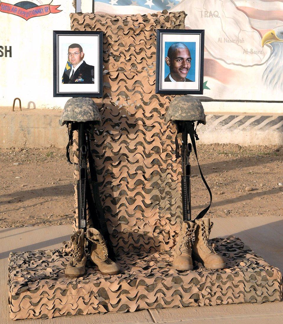 Kirkuk Airmen commemorate 5-year OIF anniversary